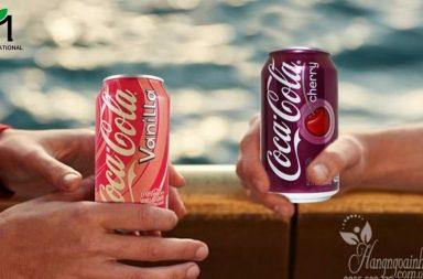 Coca Cola vị anh đào là một trong những dòng Coke được người tiêu dùng yêu thích nhất