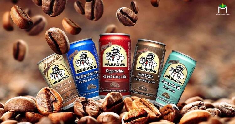 Hương cafe xuất hiện trong nhiều loại đồ uống