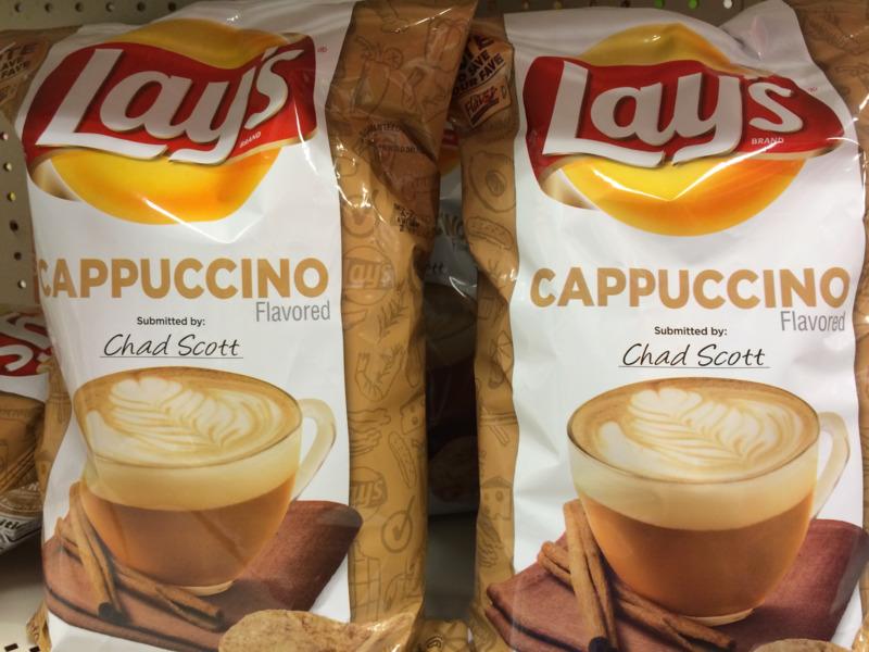 Lay's hương cappuccino mang hương thơm của cà phê