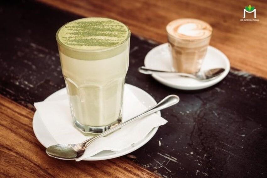 Trà sữa milkfoam có vị thơm, béo ngậy và hơi mằn mặn của lớp bọt sữa
