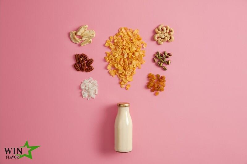 Sản phẩm hương sữa thực vật là xu thế cạnh tranh mới 2021
